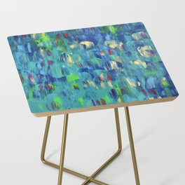 Into the Blue Side Table