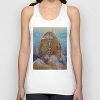 football Tank Tops featuring Football by Michael Creese