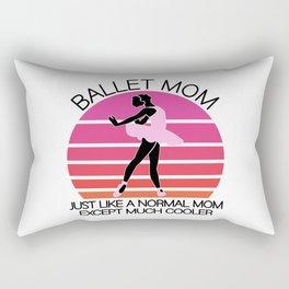 Ballet mom Rectangular Pillow