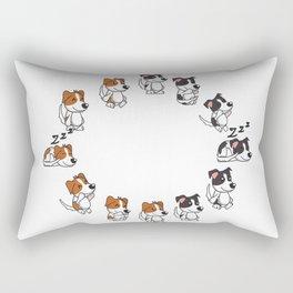 Many doggos Rectangular Pillow
