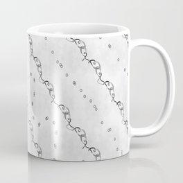 White Ribbon Coffee Mug