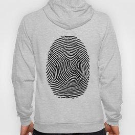 Fingerprint CSI crime scene Hoody