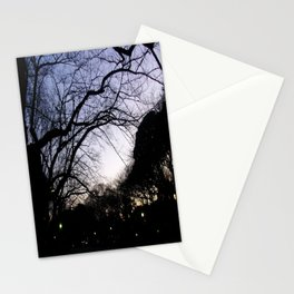 Night in Ueno Stationery Cards
