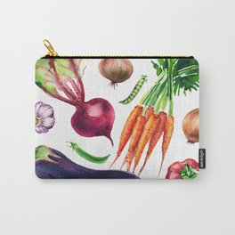 vegetables watercolor Carry-All Pouch