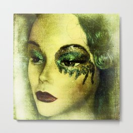 Realizing the unimportance of time Metal Print