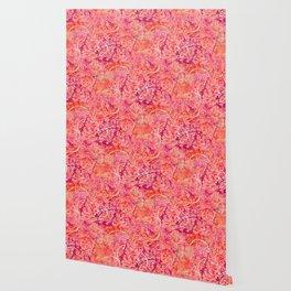 Abundance, Abstract Art Circles Grunge Wallpaper