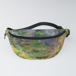 Mountain Valley In Autumn Fanny Pack