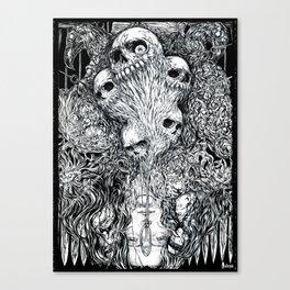 S-ad balloon Canvas Print