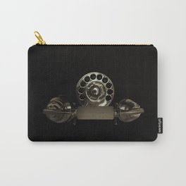 Old rotary dial phone Carry-All Pouch
