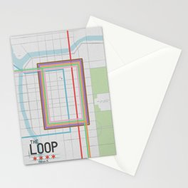 Chicago's Loop Stationery Cards