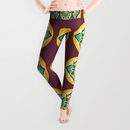 Sicilian Mandala Leggings