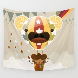 Chestnut Girl Balloon!!! Wall Tapestry