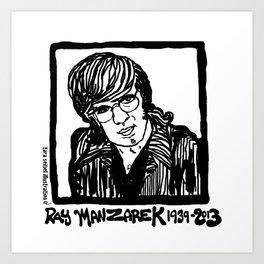 Ray Manzarik  Art Print