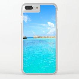 Aqua Water Clear iPhone Case