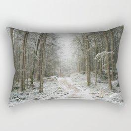 For now I am Winter - Landscape photography Rectangular Pillow