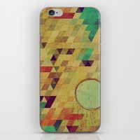 luna iPhone & iPod Skins featuring luna by Laura Moctezuma