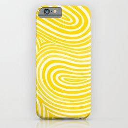 Kaleido in Yellow iPhone Case