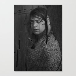 Wasted Was Canvas Print