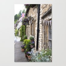 English Garden -  Tea Room Canvas Print