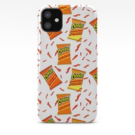 Flamin' Hot Cheetos illustration iPhone Case