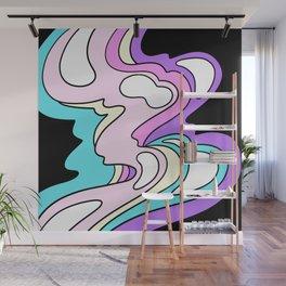 melty bubblegum Wall Mural