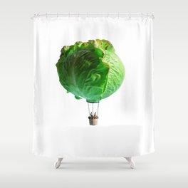Iceberg Balloon Shower Curtain