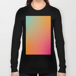 Running with Peaches Long Sleeve T-shirt