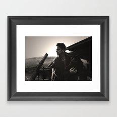 Cowboy 4 Framed Art Print