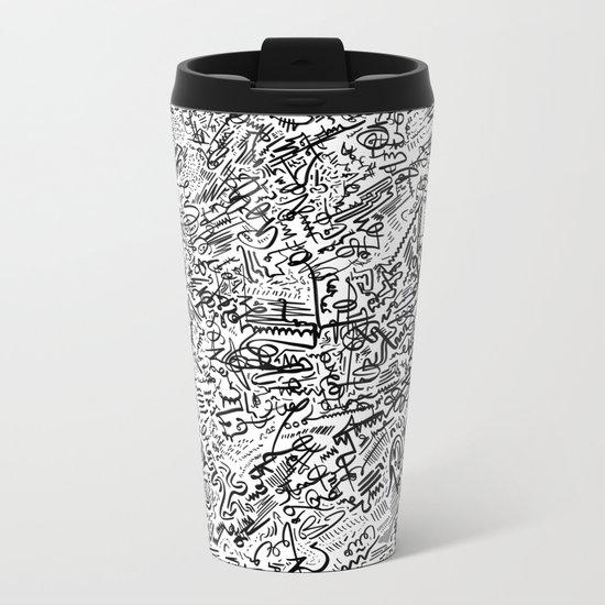 Brush Fire Metal Travel Mug