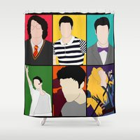 hedwig Shower Curtains featuring From Harry To Hedwig by byebyesally