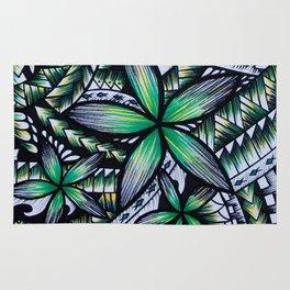 Samoan Green Machine Rug