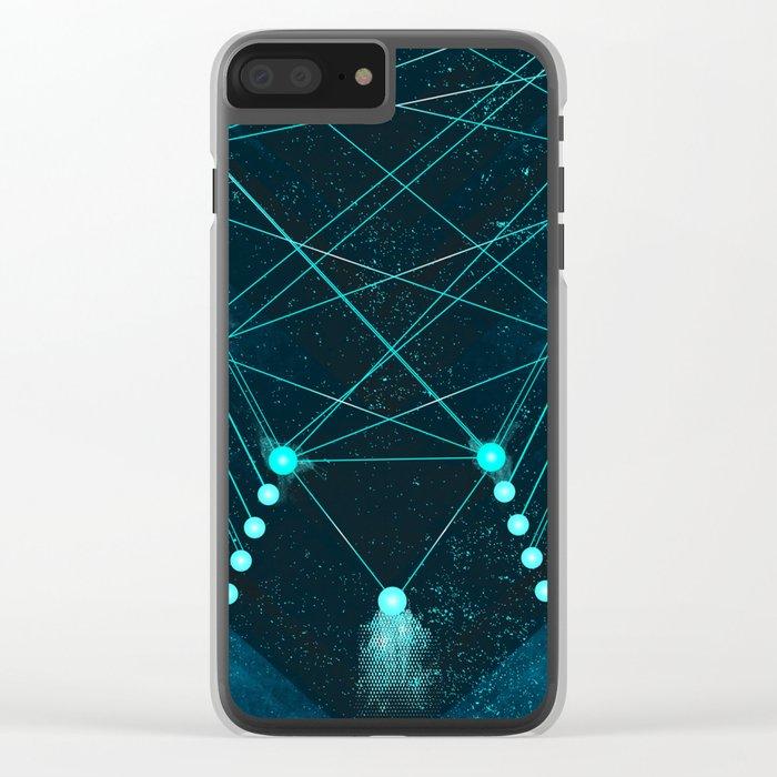 Mystic Space Clear iPhone Case