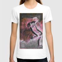 ballerina T-shirts featuring ballerina. by PureVintageLove