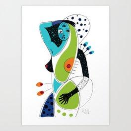 Soul Spots Art Print