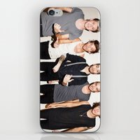 one direction iPhone & iPod Skins featuring One Direction by Max Jones