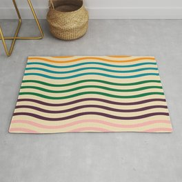 waves of fall Rug