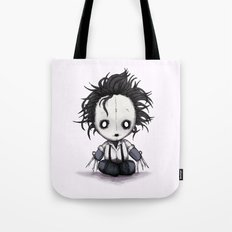 Plush Scissorhands  Tote Bag