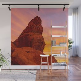 Balanced Rock Sunrise - Valley of Fire Wall Mural