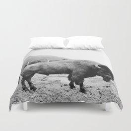 Alaska Bison Duvet Cover