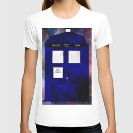 A stain in time and space T-shirt