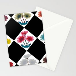Flower Print Stationery Cards