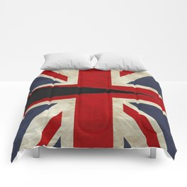 Ripped Union Jack Comforters