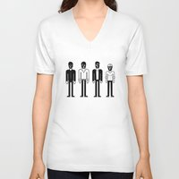 talking heads V-neck T-shirts featuring Talking Heads by Band Land