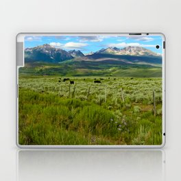 Colorado cattle ranch Laptop & iPad Skin