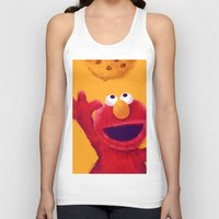 elmo Tank Tops featuring Cookies 2 by Lime