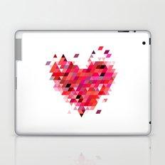 Heart1 Red Laptop & iPad Skin