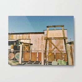 JOSHUA TREE SALOON / California Metal Print