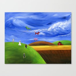 Hilly Helium Canvas Print