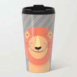 Cute Lion Travel Mug