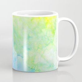 Bright and Cool Watercolor Tones Coffee Mug